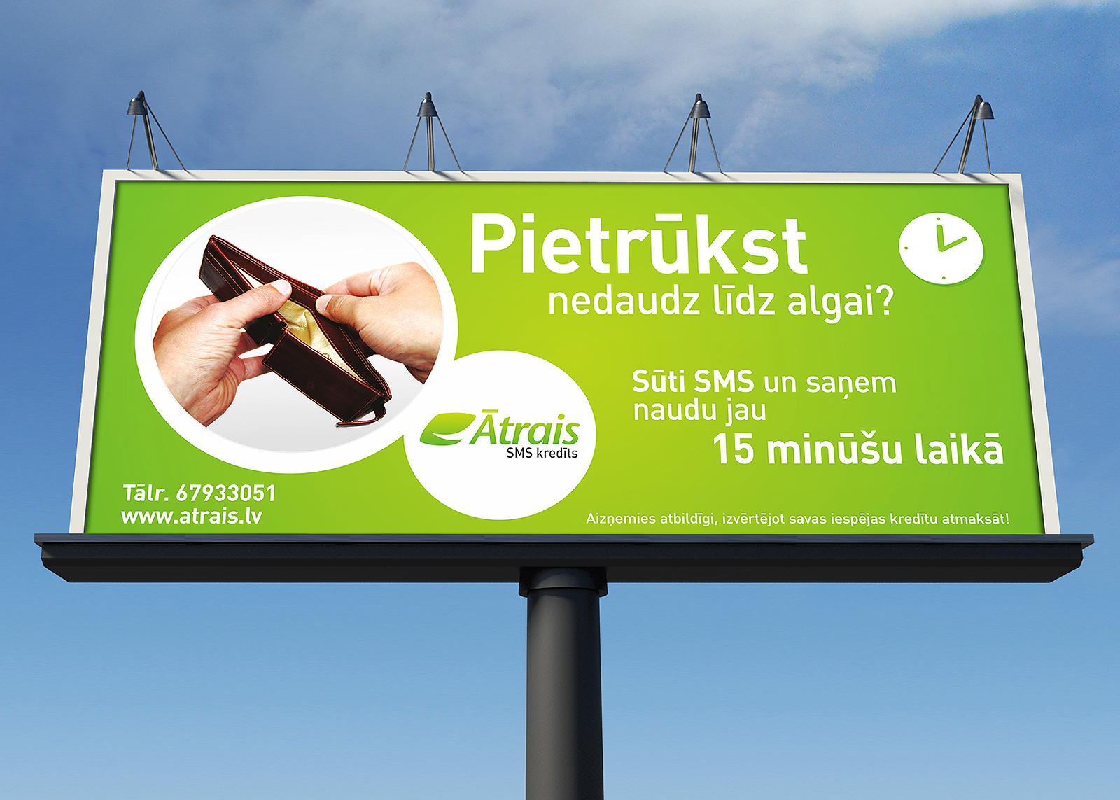 aatrais SMS kredīts