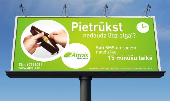 Ātrais SMS kredīts